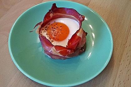 Frühstücksei im Schinkenmantel 18