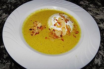 Curry - Bananen - Apfelsuppe