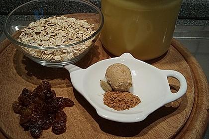 Porridge mit Ingwer und Kardamom 2