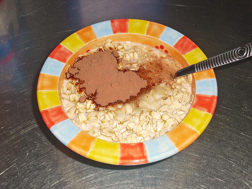 Haferflocken Mit Kakao Und Zucker Von Cremona Chefkochde
