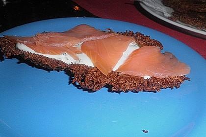 Riefkoken mit geräuchertem Lachs 6