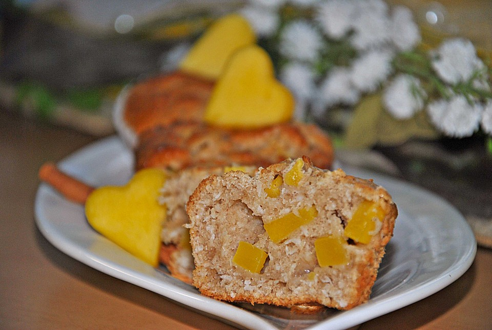 Mango Joghurt Muffins Von Greeneyedmonster Chefkoch De