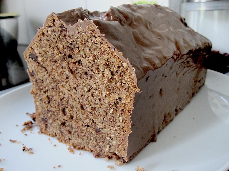 Schneller Schoko Nuss Kuchen Von Pilotilka Chefkoch