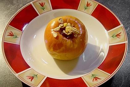 Bratapfel aus der Mikrowelle 2