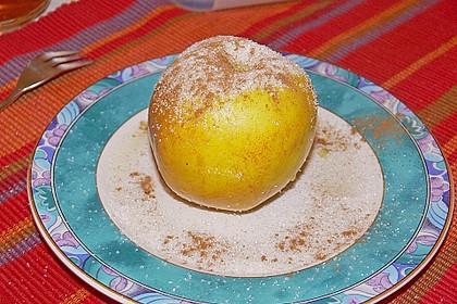 Bratapfel aus der Mikrowelle 1