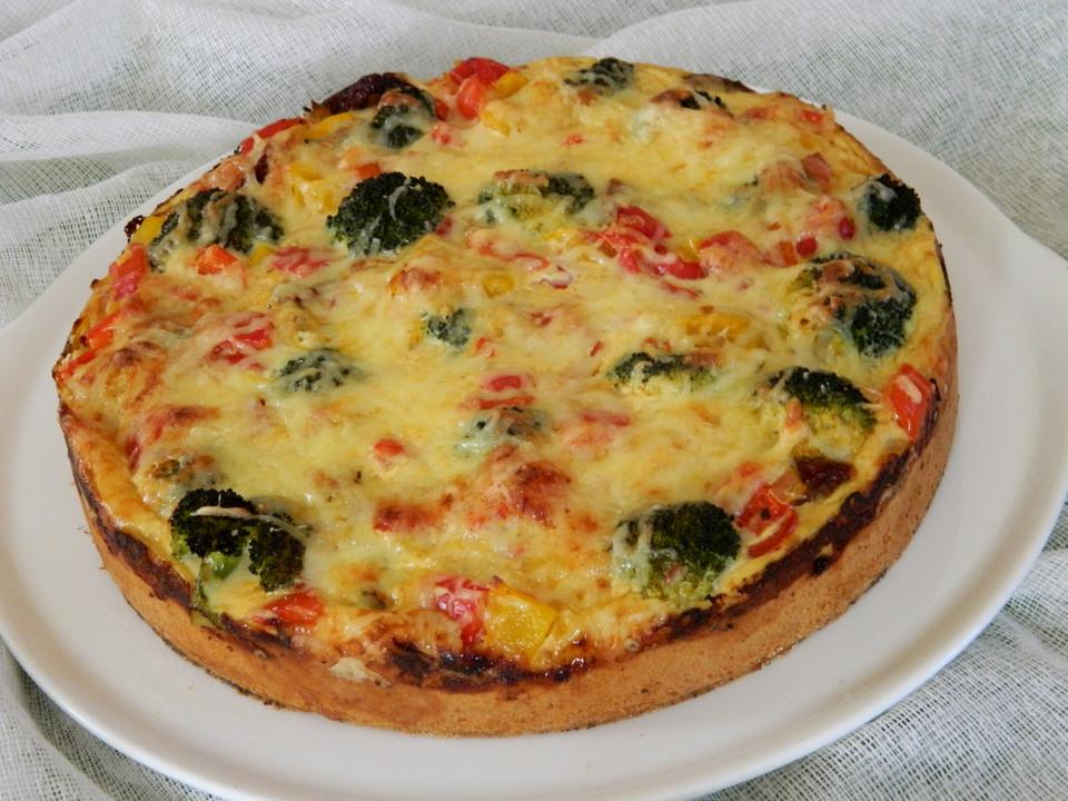 paprika brokkoli quiche von cookingjulie chefkoch