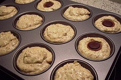 Banane - Nuss - Muffins 4