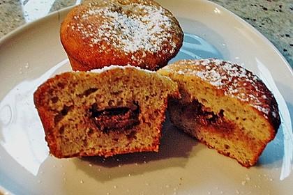Banane - Nuss - Muffins 3