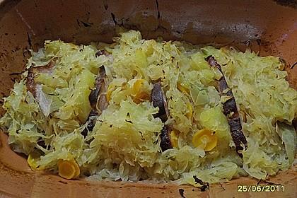 Kasseler mit Sauerkraut aus dem Römertopf 18