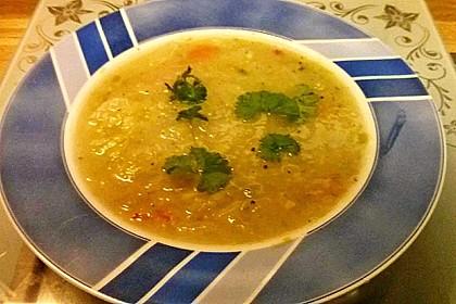 Lauch - Kohlrabi - Suppe 3