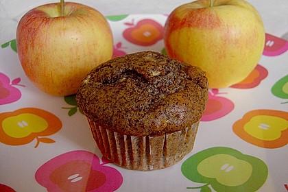Apfel - Mohn - Muffins 2