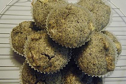 Apfel - Mohn - Muffins 11