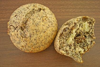 Apfel - Mohn - Muffins 14