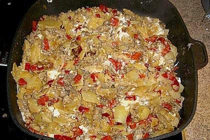 Mediterrane Kartoffelpfanne 1