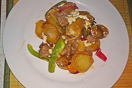 Mediterrane Kartoffelpfanne 2