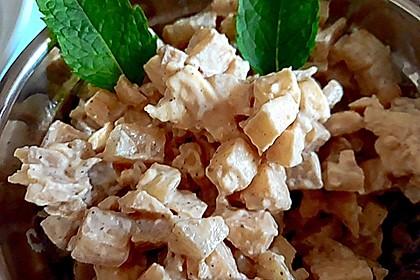 Käsesalat mit Apfel und Birne (Bild)