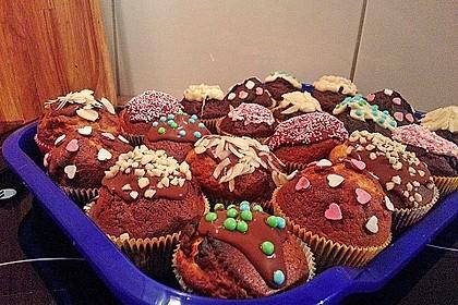 Extra White Chocolate Muffins 27