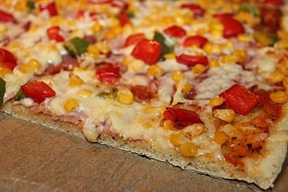 Pizzateig für ein Blech (Bild)
