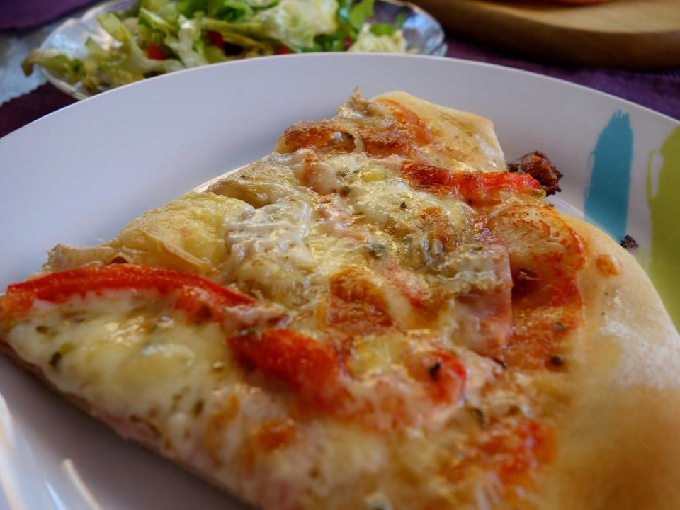 Pizzateig Für Ein Blech Von Kochnudel84 Chefkoch