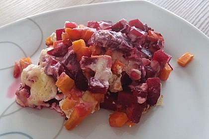 Svenjas Rote Bete-Süßkartoffel Gratin mit Ingwer 15