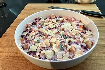 Svenjas Rote Bete-Süßkartoffel Gratin mit Ingwer 17