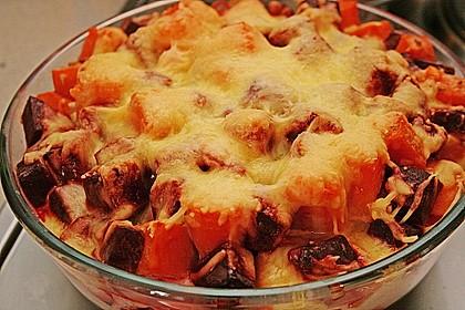 Svenjas Rote Bete-Süßkartoffel Gratin mit Ingwer 3