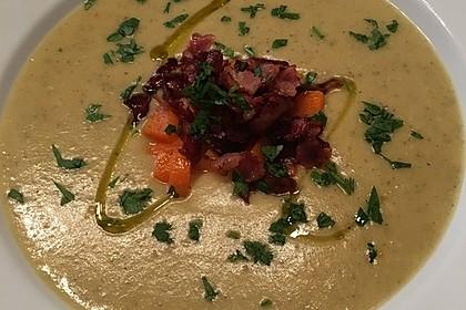 Mickys Kartoffelsuppe mit Champignons 1