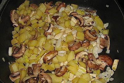 Mickys Kartoffelsuppe mit Champignons 45