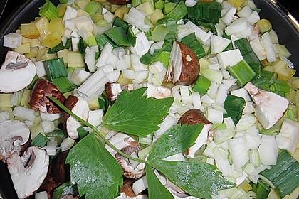 Mickys Kartoffelsuppe mit Champignons 27