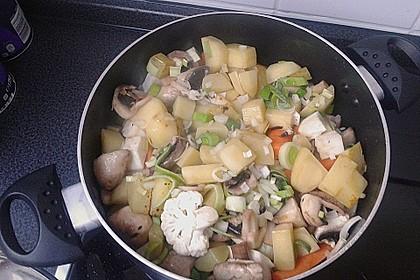Mickys Kartoffelsuppe mit Champignons 37