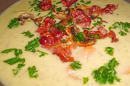 Mickys Kartoffelsuppe mit Champignons 42