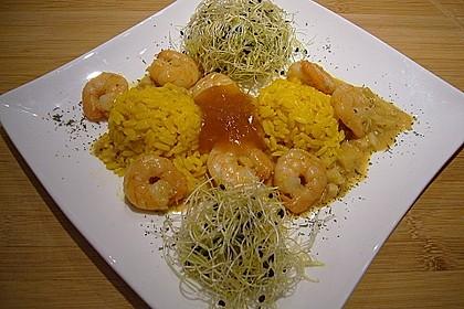 Jhinga Kari - Krabben Curry, indisch