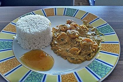 Jhinga Kari - Krabben Curry, indisch 2