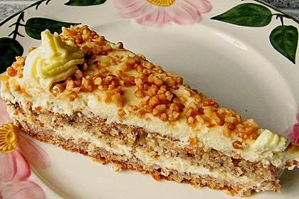 Vanille - Krokant - Torte 2