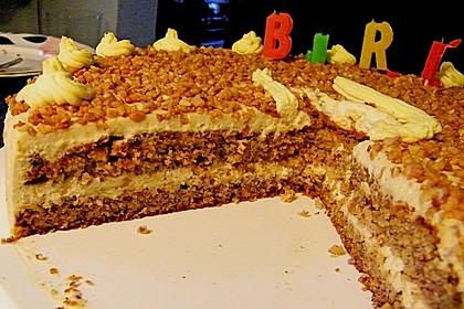 Vanille - Krokant - Torte 7