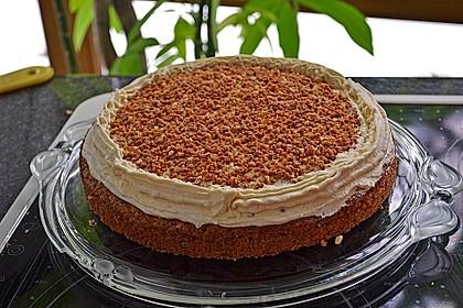 Vanille - Krokant - Torte