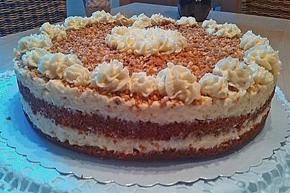 Vanille - Krokant - Torte 3
