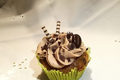 Cappuccino Cupcakes mit Cream - Cheese Frosting 1