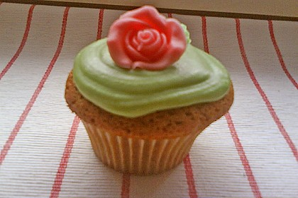 Cappuccino Cupcakes mit Cream - Cheese Frosting 23
