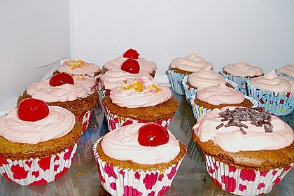 Cappuccino Cupcakes mit Cream - Cheese Frosting 27