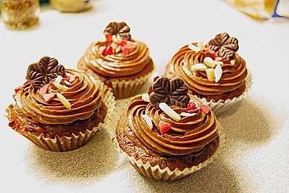 Cappuccino Cupcakes mit Cream - Cheese Frosting 2