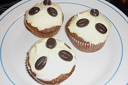 Cappuccino Cupcakes mit Cream - Cheese Frosting 22