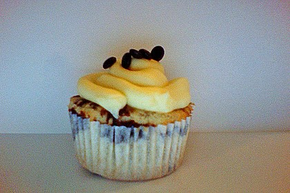 Cappuccino Cupcakes mit Cream - Cheese Frosting 33