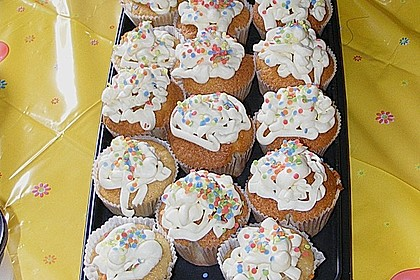 Cappuccino Cupcakes mit Cream - Cheese Frosting 30