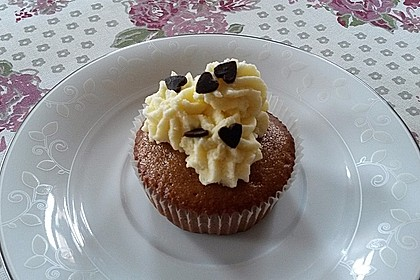 Cappuccino Cupcakes mit Cream - Cheese Frosting 8