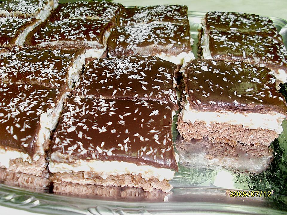 Schoko Griess Sahne Kokos Kuchen Von Brisane Chefkoch De