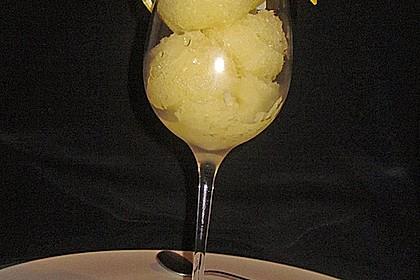 Ananassorbet 1