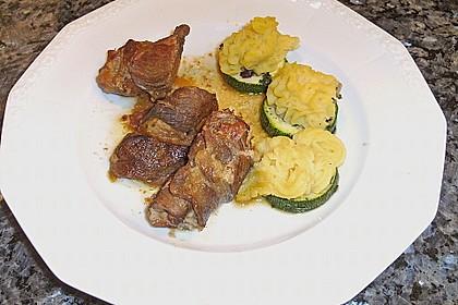 Zucchinitaler mit Kartoffel - Schalotten - Haube 3