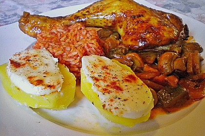 Mozzarella - Kartoffeln