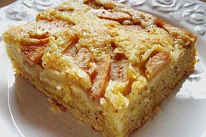 Birnen - Mandel - Kuchen 2